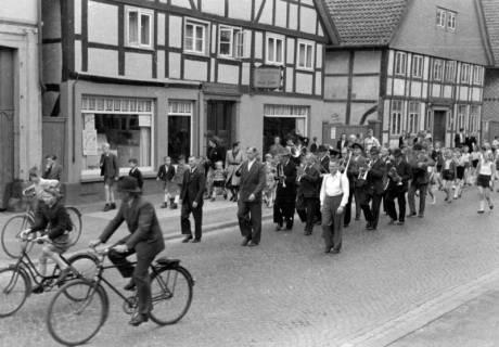 ARH NL Dierssen 0150/0019, Schauturnen, Springe, 1949
