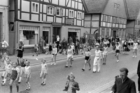 ARH NL Dierssen 0150/0022, Schauturnen, Springe, 1949