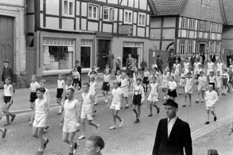 ARH NL Dierssen 0150/0024, Schauturnen, Springe, 1949