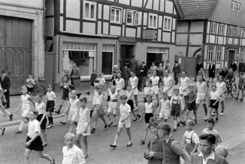 ARH NL Dierssen 0150/0025, Schauturnen, Springe, 1949
