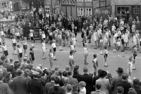 ARH NL Dierssen 0150/0027, Schauturnen, Springe, 1949