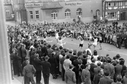 ARH NL Dierssen 0150/0028, Schauturnen, Springe, 1949
