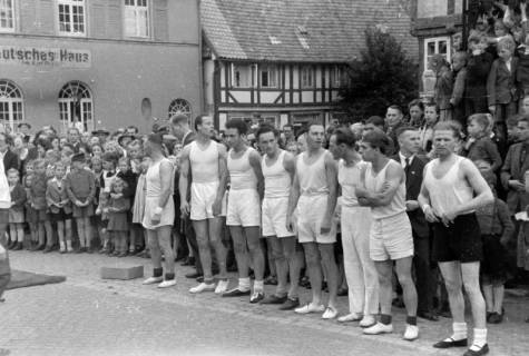 ARH NL Dierssen 0150/0030, Schauturnen, Springe, 1949