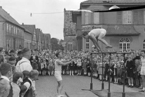 ARH NL Dierssen 0150/0031, Schauturnen, Springe, 1949