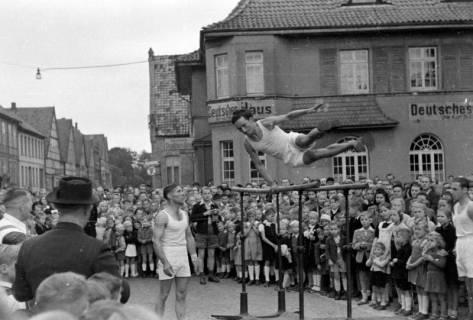 ARH NL Dierssen 0150/0036, Schauturnen, Springe, 1949