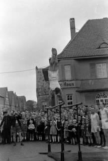 ARH NL Dierssen 0151/0001, Schauturnen, Springe, 1949