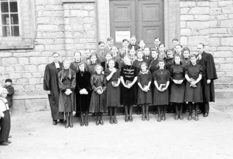 ARH NL Dierssen 0156/0001, Konfirmation, 1949
