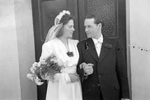 ARH NL Dierssen 0159/0001, Hochzeit Bauer Haun, 1949