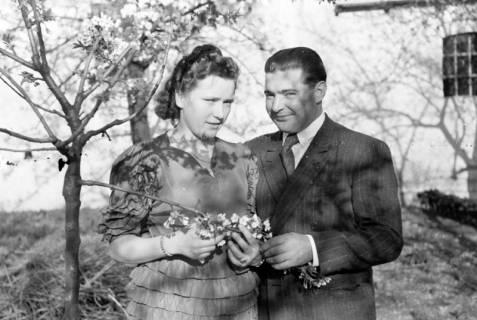 ARH NL Dierssen 0159/0003, Hochzeit Bauer Haun, 1949