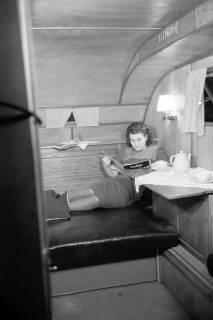 """ARH NL Dierssen 0161/0008, Wohnwagen """"Deister...?, 1949"""