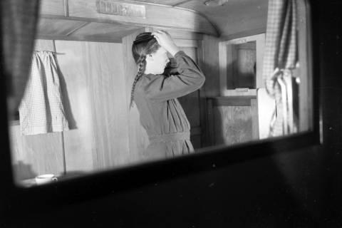 """ARH NL Dierssen 0161/0010, Wohnwagen """"Deister...?, 1949"""