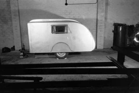 """ARH NL Dierssen 0161/0011, Wohnwagen """"Deister...?, 1949"""