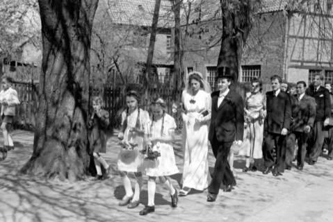 ARH NL Dierssen 0168/0001, Hochzeit von Fräulein Haun-Just, 1949