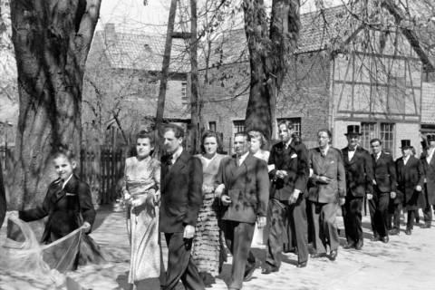 ARH NL Dierssen 0168/0002, Hochzeit von Fräulein Haun-Just, 1949