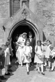 ARH NL Dierssen 0168/0004, Hochzeit von Fräulein Haun-Just, 1949