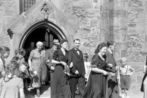 ARH NL Dierssen 0168/0007, Hochzeit von Fräulein Haun-Just, 1949