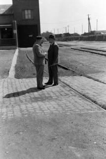 ARH NL Dierssen 0168/0010, Herr Bormann und Herr Bähre, 1949