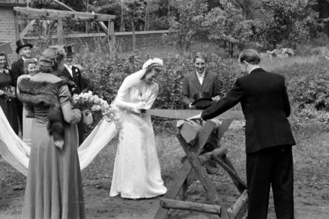ARH NL Dierssen 0170/0007, Hochzeit Diedrichs, 1949