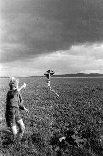 ARH NL Dierssen 0190/0011, Drachensteigen, 1949