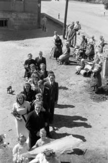 ARH NL Dierssen 0190/0021, Hochzeit Gronoss, 1949