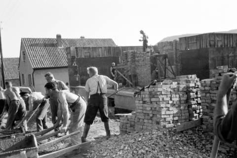 ARH NL Dierssen 0195/0020, Baustelle Selbsthilfe Baugemeinschaft, 1949