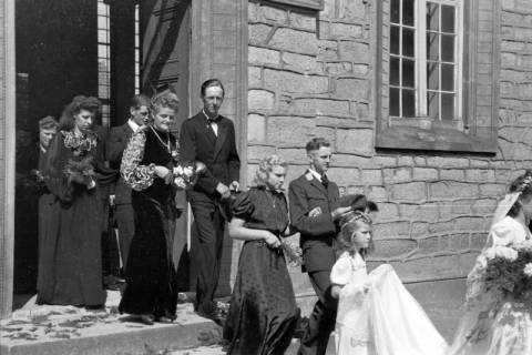 ARH NL Dierssen 0197/0002, Hochzeit Rathing, 1949
