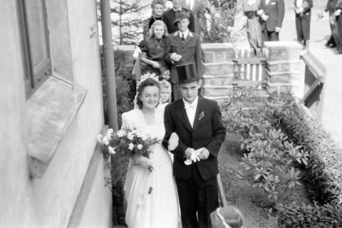 ARH NL Dierssen 0197/0007, Hochzeit Rathing, 1949