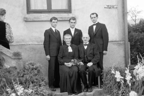 ARH NL Dierssen 0197/0016, Hochzeit Rathing, 1949