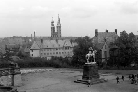 ARH NL Dierssen 0200/0007, Polizei-Ausflug: Rathaus in Goslar, 1949