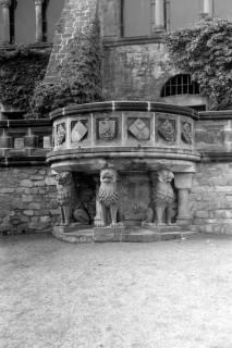 ARH NL Dierssen 0200/0008, Polizei-Ausflug: Kaiserpfalz in Goslar, 1949