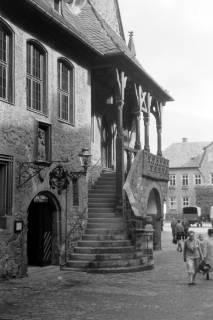 ARH NL Dierssen 0200/0013, Polizei-Ausflug: Rathaus in Goslar, 1949