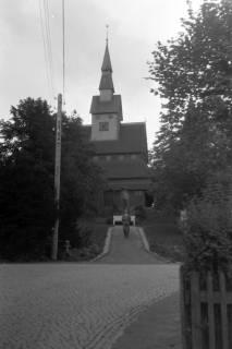 ARH NL Dierssen 0200/0020, Polizei-Ausflug: Kirche in Hahnenklee, 1949