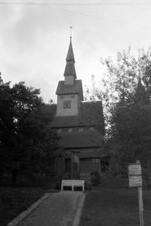 ARH NL Dierssen 0200/0021, Polizei-Ausflug: Kirche in Hahnenklee, 1949