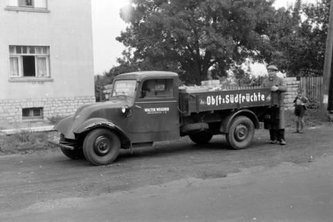 ARH NL Dierssen 0202/0006, Obstverkäufer, 1949