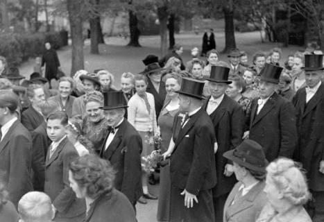 ARH NL Dierssen 0205/0009, Hochzeit Hüper-Schneider, 1949