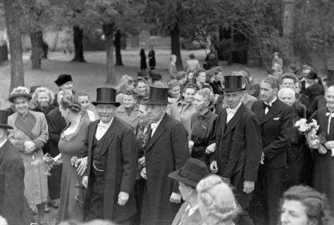 ARH NL Dierssen 0205/0010, Hochzeit Hüper-Schneider, 1949
