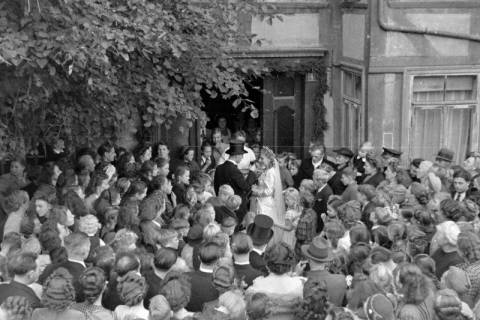 ARH NL Dierssen 0205/0019, Hochzeit Hüper-Schneider, 1949