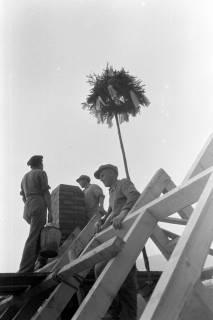 ARH NL Dierssen 0206/0008, Richtfest Selbsthilfe, 1949