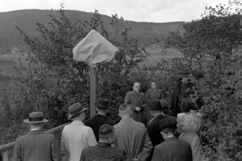 ARH NL Dierssen 0211/0017, Wegweiser Jägerallee, 1949