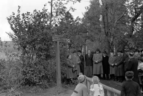 ARH NL Dierssen 0211/0021, Wegweiser Jägerallee, 1949