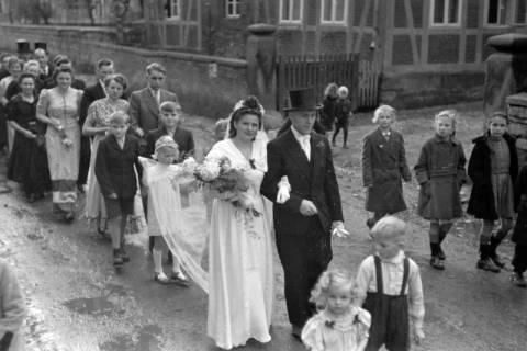 ARH NL Dierssen 0215/0006, Hochzeit Steinhop, 1949