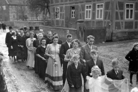 ARH NL Dierssen 0215/0007, Hochzeit Steinhop, 1949