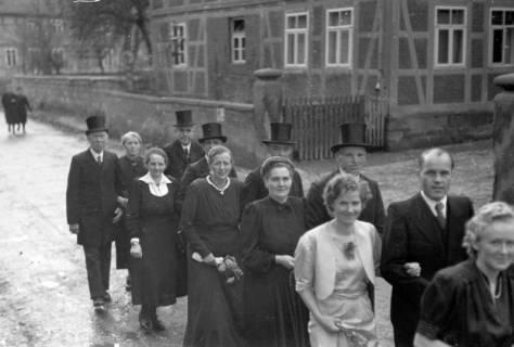 ARH NL Dierssen 0215/0009, Hochzeit Steinhop, 1949
