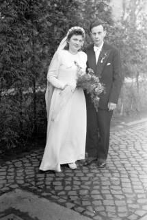 ARH NL Dierssen 1005/0012, Hochzeit Petonski (Scheloske), 1950