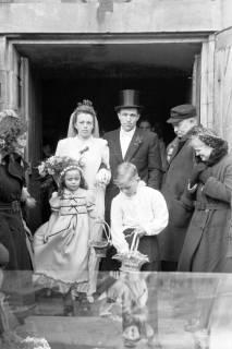 ARH NL Dierssen 1006/0007, Hochzeit Scheunert, 1950