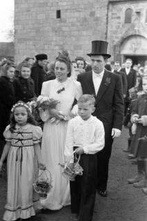 ARH NL Dierssen 1006/0008, Hochzeit Scheunert, 1950