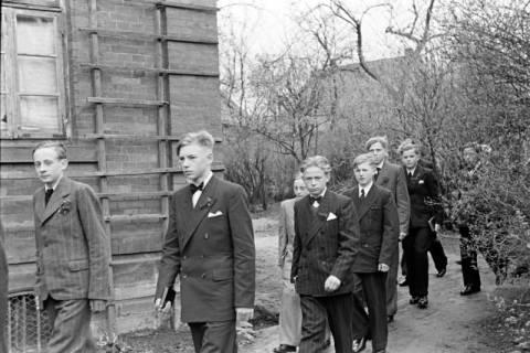 ARH NL Dierssen 1013/0012, Konfirmation (Umzug), 1950