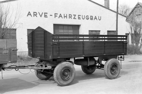 ARH NL Dierssen 1015/0029, Arve Fahrzeugbau - LKW mit Anhänger, 1950