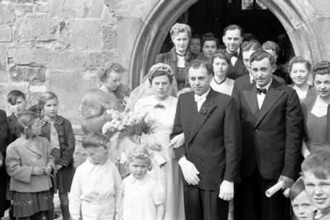 ARH NL Dierssen 1021/0001, Hochzeit Schnelle, 1950