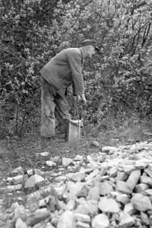 ARH NL Dierssen 1022/0020, Sprengmeister im Kalkbruch, 1950
